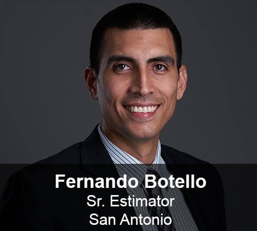 Fernando Botello - Estimator