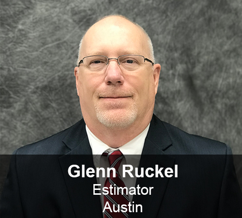 Glenn Ruckel - Estimator
