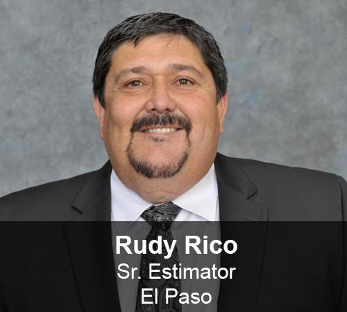 Rudy Rico - Sr. Estimator